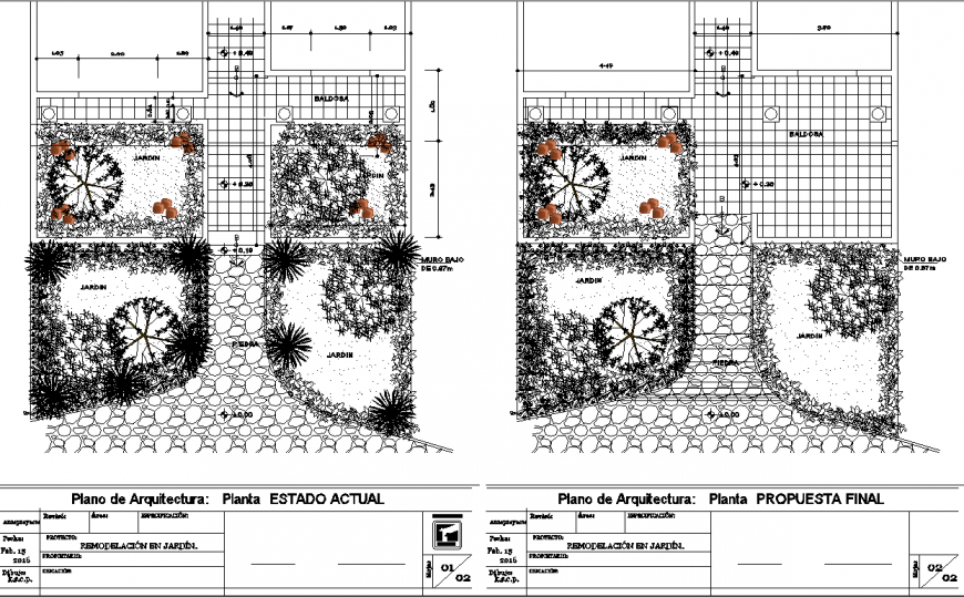 Entrance park plan drawing in dwg file.