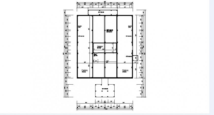 Existing residence house site plan and structure details dwg file