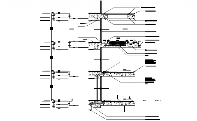 extended cornice elevation dwg file