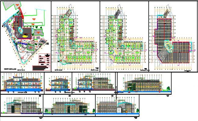 Hospital Layout Design