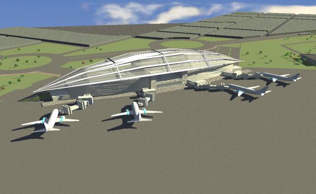 3d Air Terminal Airport