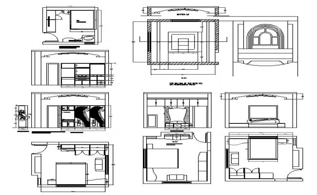 Furniture interior detail