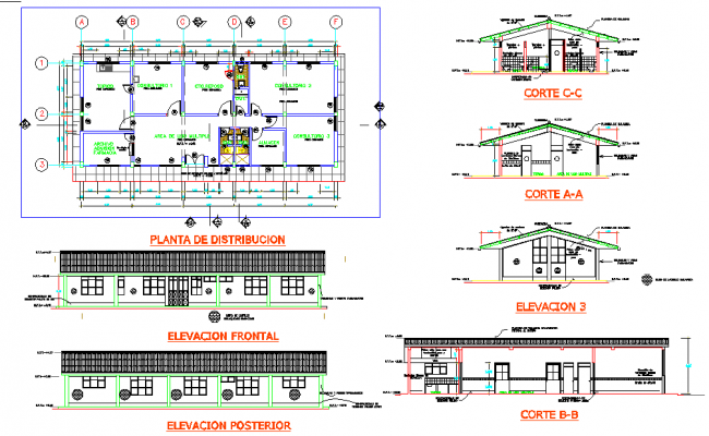 Medical Clinic Centre Plan