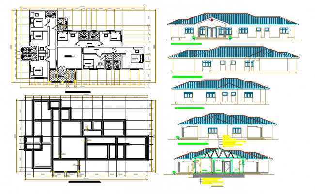 Guest House Architectural Design