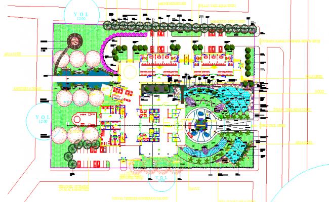 Club house plan