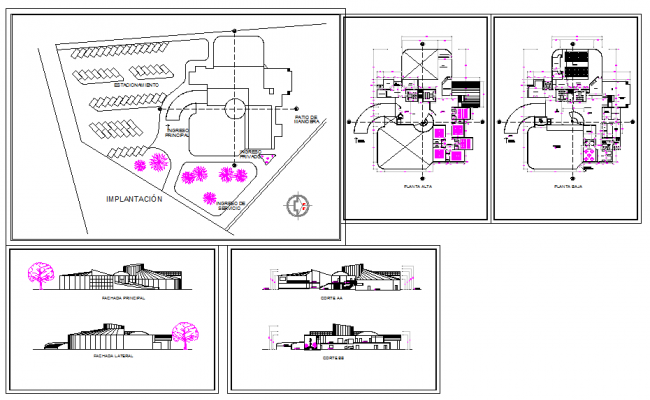 Business park detail