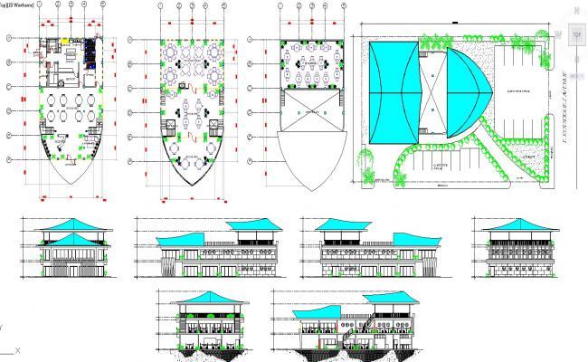 Restaurant detail & layout