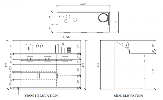 Standing Table Design