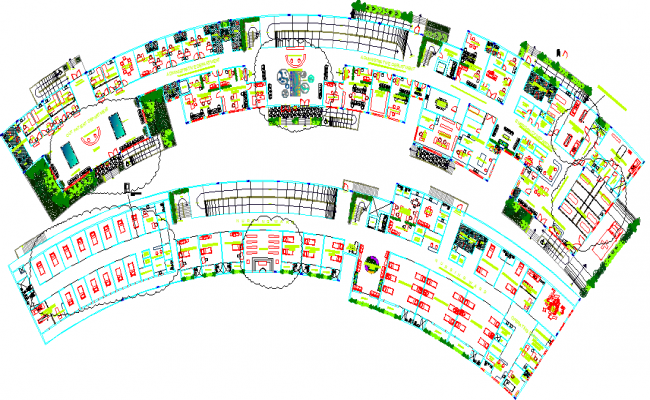 Business Hub Architecture Lay-out