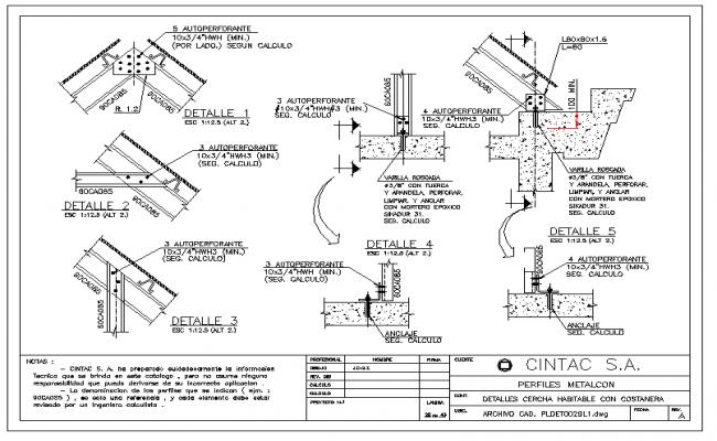 Truss Structure detail