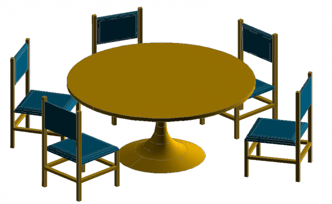 3D Dinning Table