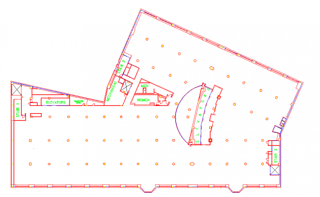 Foundation Lay-out design