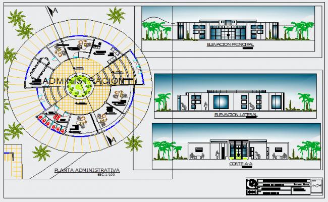 Administrative unit of design workshop