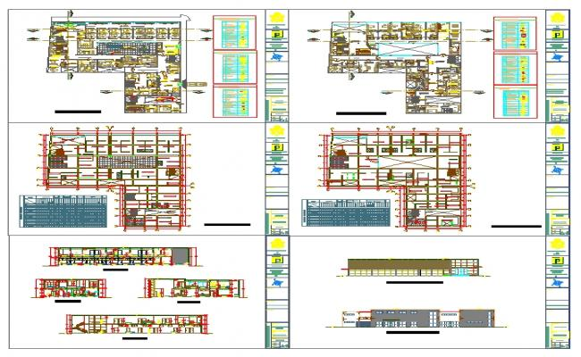 Medical Center Building plan
