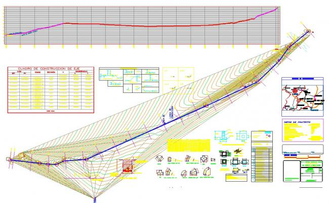 Water duct detail autocad dwg files