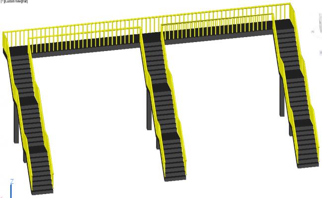 Bridge Stair Detail