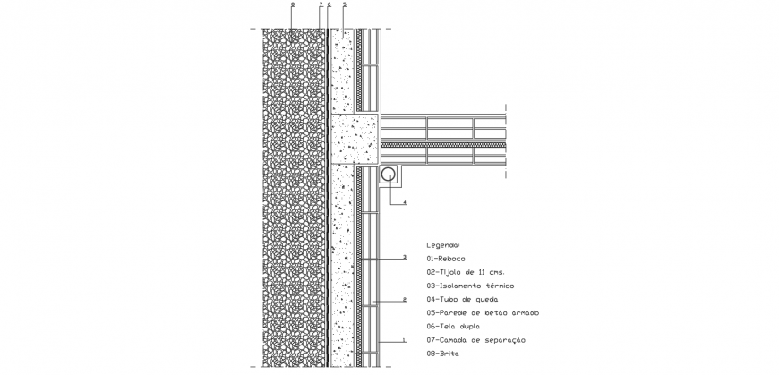 Faced section dwg file
