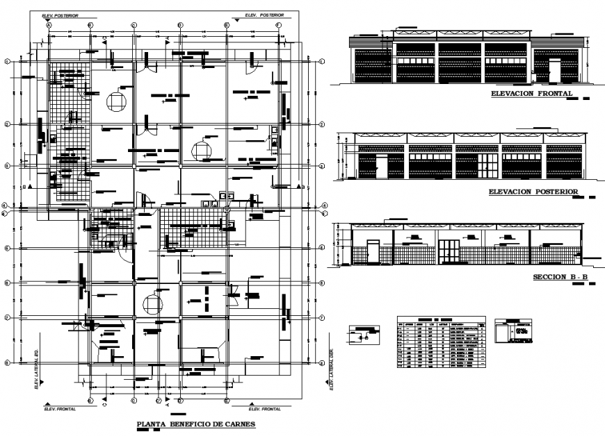 Factory drawing in dwg file.