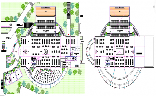 Multiplex theatre Design
