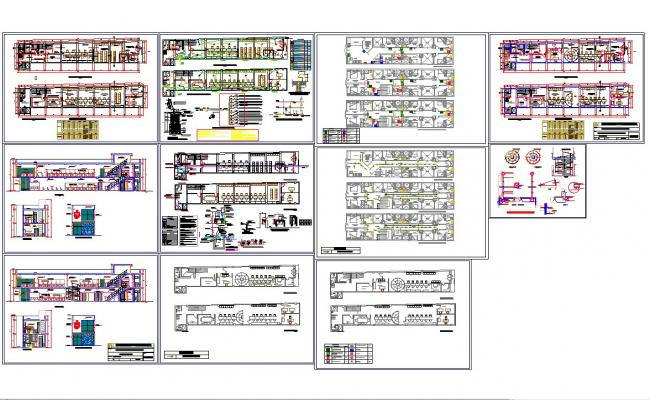 Corporate office interiors layout in autocad files