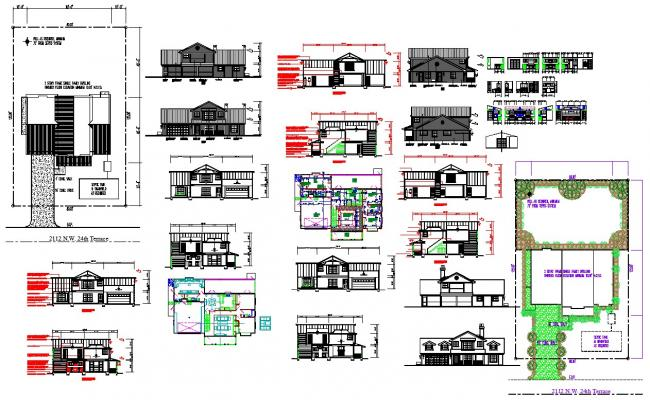 House architecture projects detail