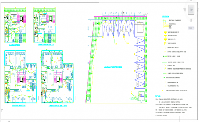 Electrical office plan