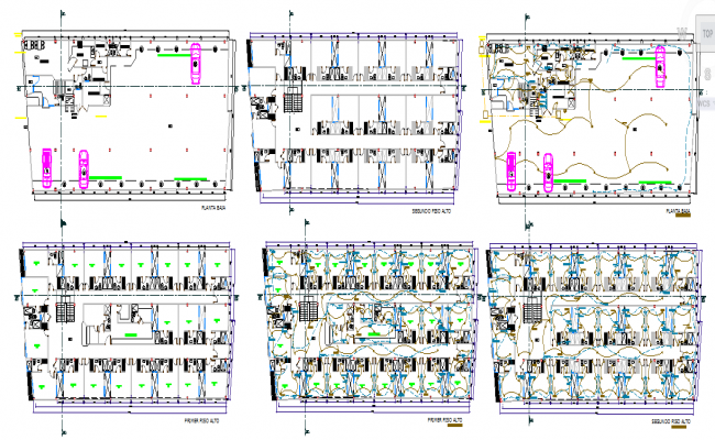 Hotel Electric Lay-out Plan