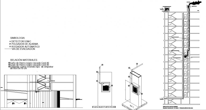 electrical supply board and machine cad file