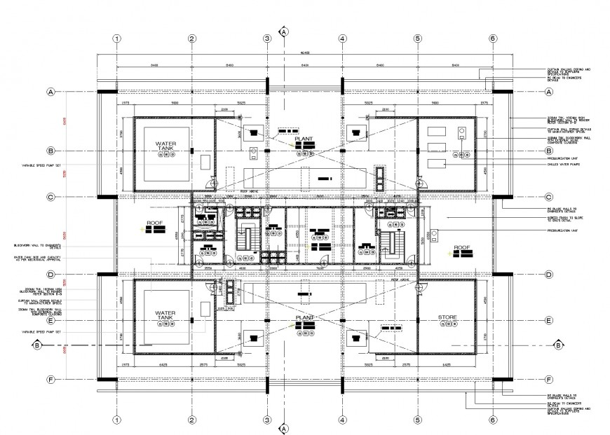 First floor house working plan layout file