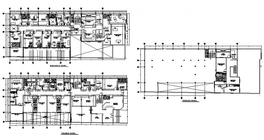 First floor to terrace floor home plan layout file