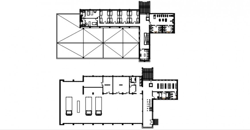 Floor distribution drawing details of domestic airport dwg file