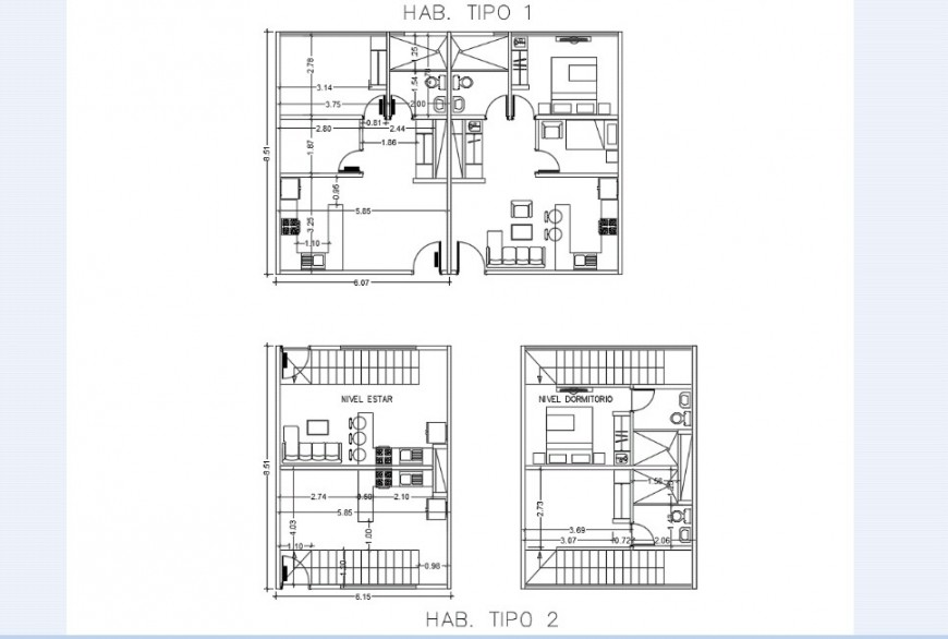 Floor plan of hotel in auto cad file software