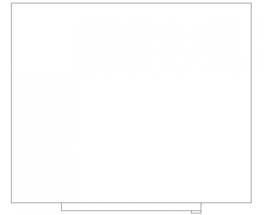 Pillow CAD blocks detail 2d view layout file in autocad ...