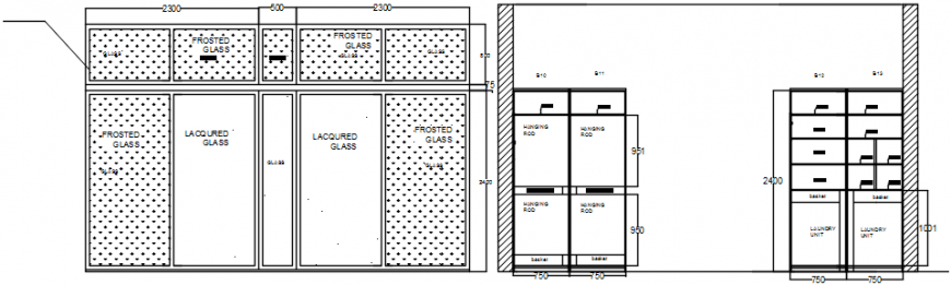 Furniture drawings 2d view autocad software file