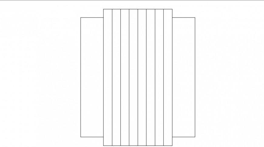 Furniture Cad Blocks Detail Elevation 2d View Layout File