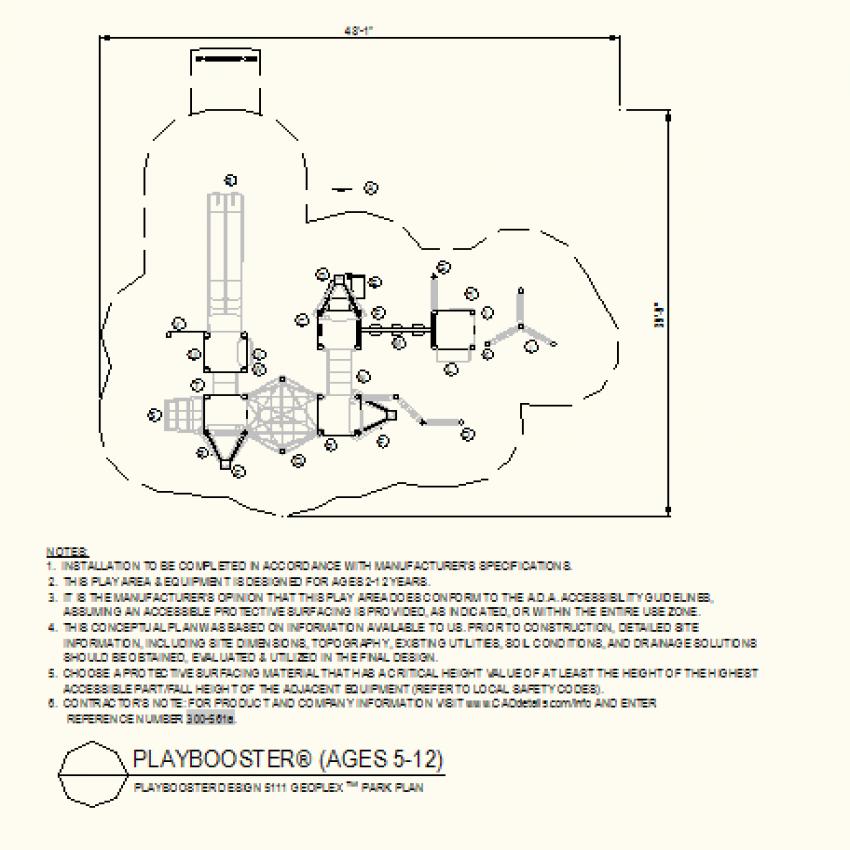 Geoplex park plan layout file