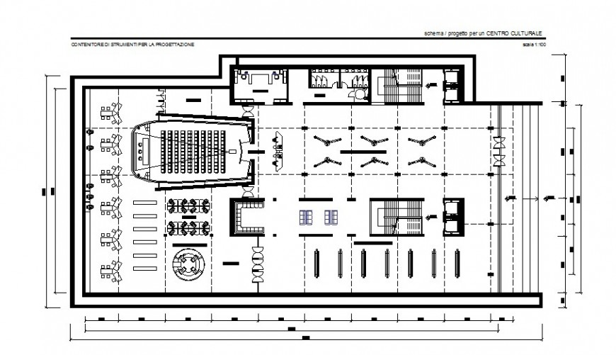 Government detail layout plan in AutoCAD file.