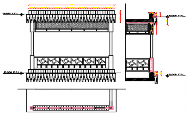 grill design dwg file