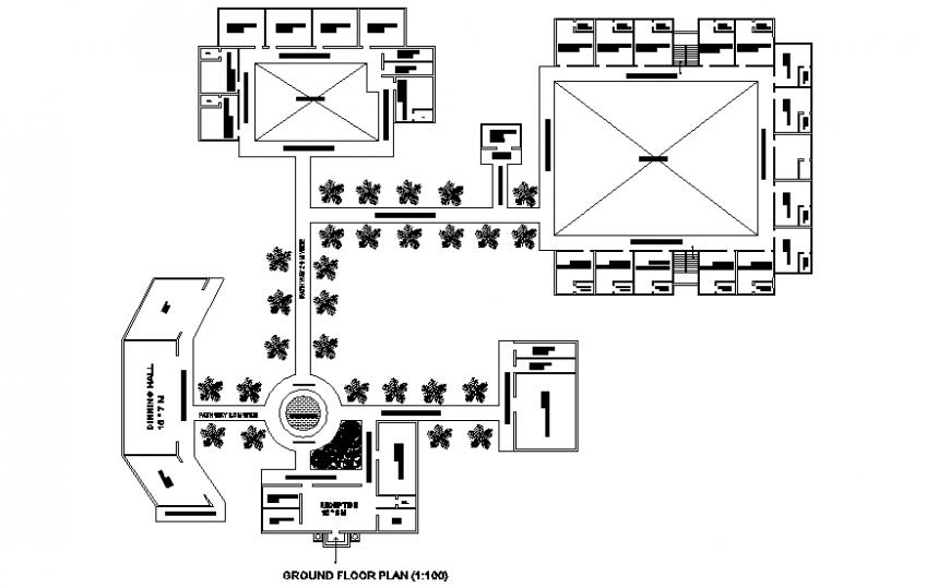 Ground floor motel plan
