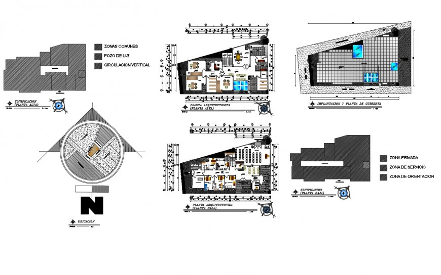 Health center building floor plan, site plan and auto-cad drawing details dwg file