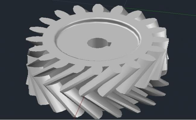helical gears.