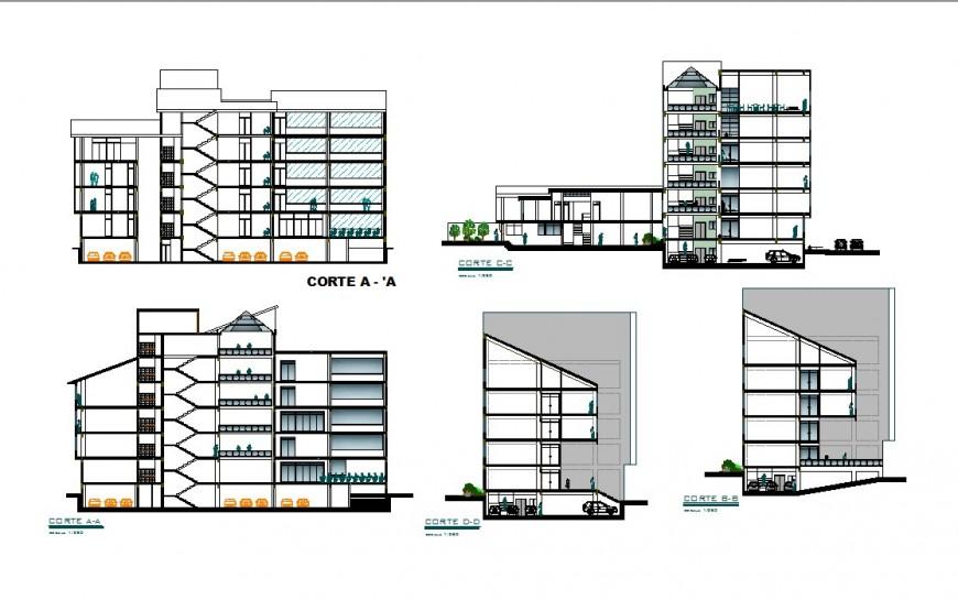 High rise building concept model