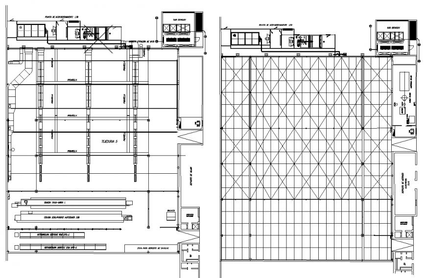 High rise corporate building drawing in dwg AutoCAD file.