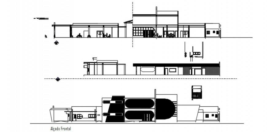Hospital elevation building design