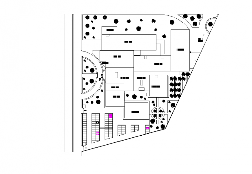 Hospital Foundation Plan Lay-out