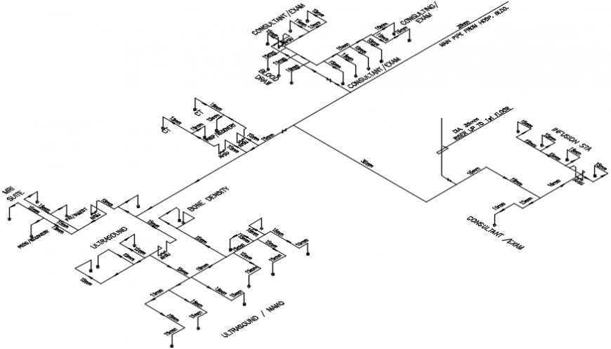 Hospital installation file 2d detail