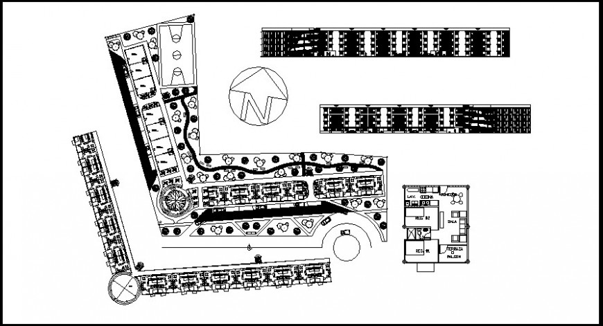 hotel and resort layout  details