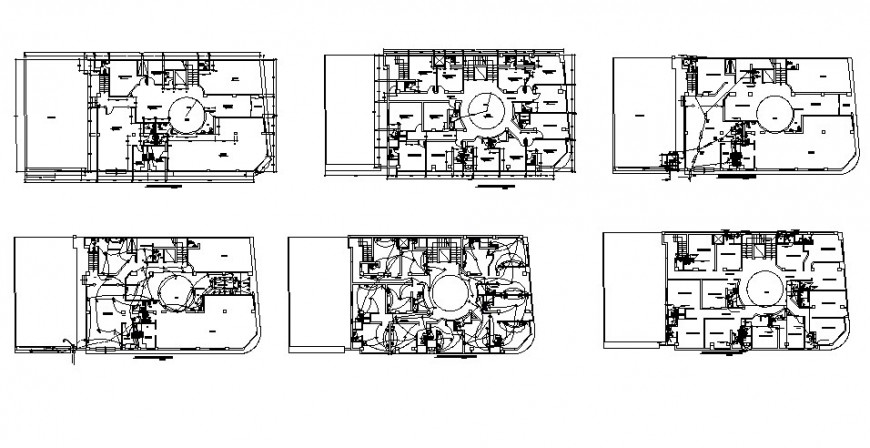Hotel building electrical installation and sanitary installation drawing details dwg file
