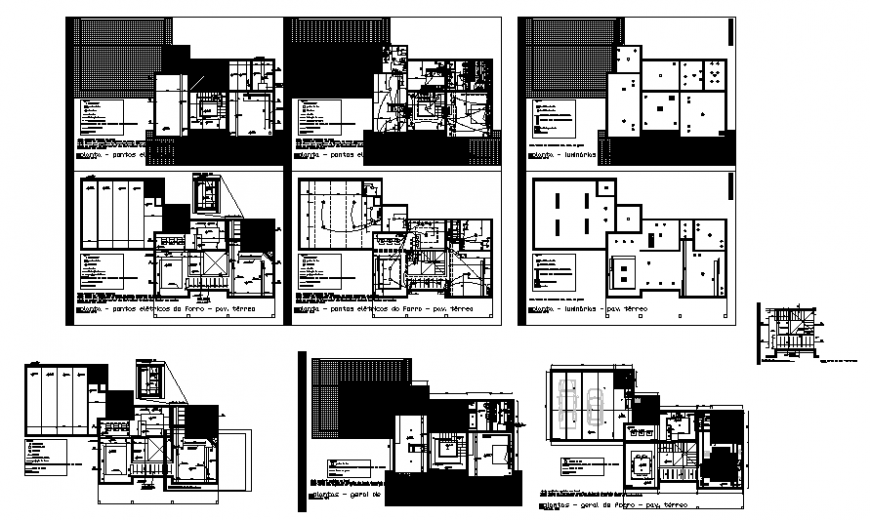 House gypsums heating plan layout file