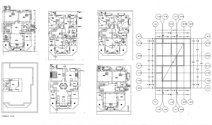 House plan, electrical layout plan, furniture layout and auto-cad drawing details dwg file